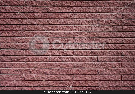 Ancient wall from red brick stock photo, Ancient wall made from red brick by CameraCantabile