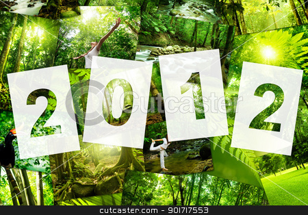 2012 Calender Cover stock photo, 2012 Nature Concept Calender Cover, all image belongs to me by szefei