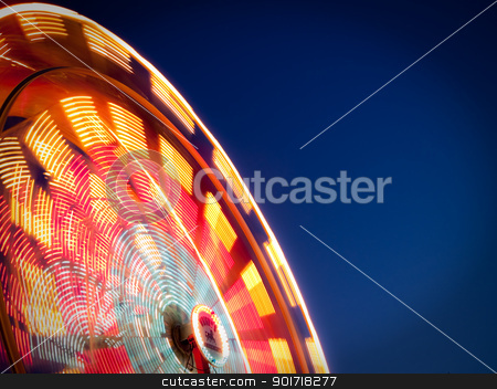 Carnival Ride stock photo, Carnival Ride by Cora Reed