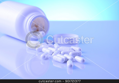 Supplements science stock photo, Supplements science by fikmik