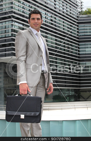 portrait of a businessman stock photo, portrait of a businessman by photography33