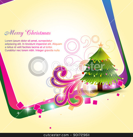 christmas background stock vector clipart, vector christmas background design illustration by pinnacleanimates