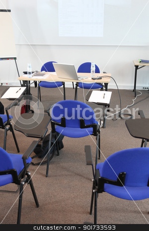 Empty class room stock photo, Empty class room by photography33