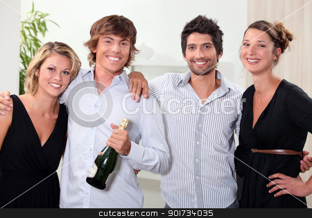 Couples celebrating stock photo, Couples celebrating by photography33