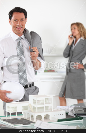 Project manager stock photo, Project manager by photography33