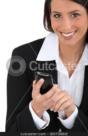portrait of a businesswoman stock photo, portrait of a businesswoman by photography33