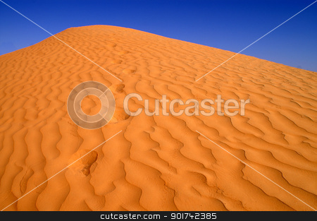 Sea of Sand stock photo, beautiful day in the dunes of Africa by Viktor Thaut