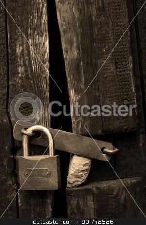 old lock stock photo, old lock by Sarka