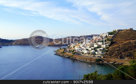 Vourkari – Kea stock photo, The yachting town of Vourkari in Kea – Greece by kos29