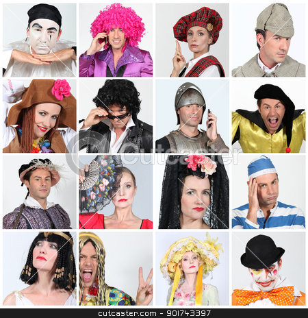 Carnival costumes stock photo, Carnival costumes by photography33