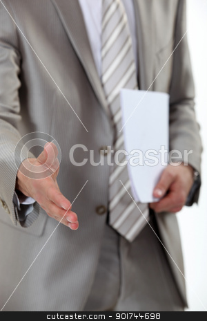Businessman hand shake stock photo, Businessman hand shake by photography33