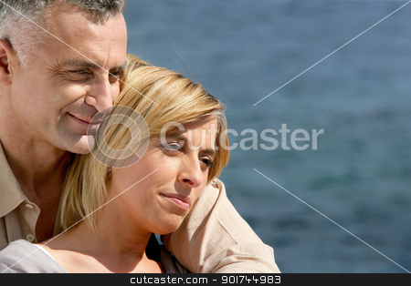 Mature couple hugging stock photo, Mature couple hugging by photography33