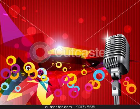 vector mic stock vector clipart, beautiful vector mic stylish design by pinnacleanimates