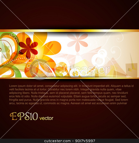 vector template stock vector clipart, abstract vector stylish eps10 template by pinnacleanimates