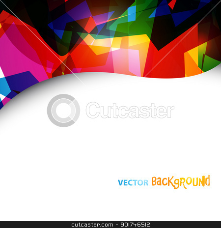 eps10 abstract artwork stock vector clipart, abstrat eps10 vector colorful design background with space for your text by pinnacleanimates