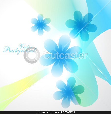 vector flower stock vector clipart, beautiful flower vector background illustration by pinnacleanimates