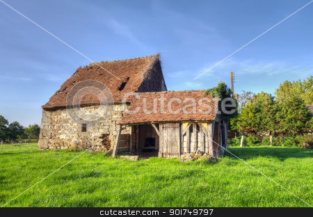 old house  stock photo, Normandy traditional old house  by Ioan Panaite