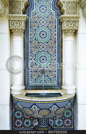 Moroccan Pavilion  stock photo, Beautiful Moroccan Pavilion in Putrajaya in Malaysia. by szefei