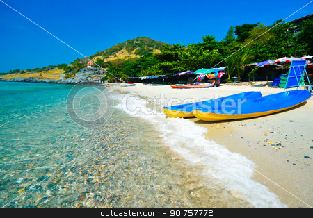 Beach in eastern Thailand   stock photo, Beach in eastern Thailand  at koh sichang island chonburi,Thailand by kongsky