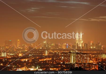 Kuala Lumpur stock photo, Kuala Lumpur malaysia  by szefei
