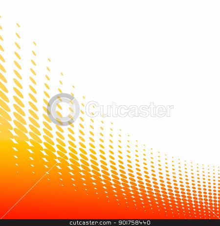 Background with orange circles.  stock photo, Background with orange circles and blank space. by szefei