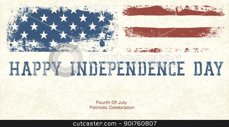 Fourth Of July Patriotic Celebration Background. Vector, EPS10 stock photo, Fourth Of July Patriotic Celebration Background. Vector, EPS10 by pashabo