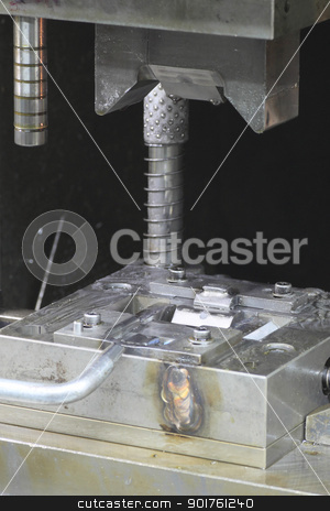 Die (manufacturing) stock photo, Close up  Die (manufacturing) in  japan by yoshiyayo