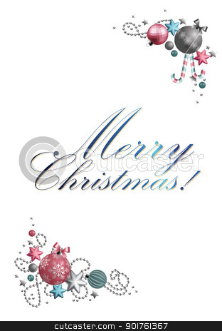 Merry Christmas stock photo, Classic Holiday Vector Lettering  by Diana