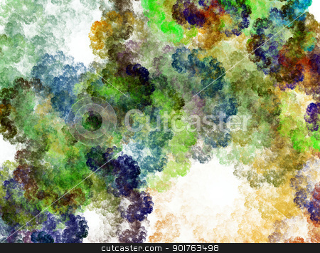 Abstract floral fractal stock photo, Abstract floral fractal. Computer generated this image by Imaster
