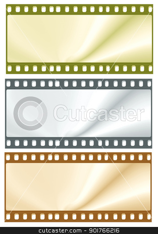 35mm Film frames stock photo,  Film frames by Janaka Dharmasena