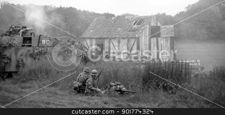 German officer escaping stock photo, German officer escapes from tank ss panzer division by Ollie Taylor