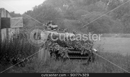 German heavy armour stock photo, German  tank ss panzer division by Ollie Taylor