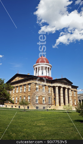 Old State Capitol in Springfield stock photo, Springfield, Illinois - Old State Capitol by Henryk Sadura