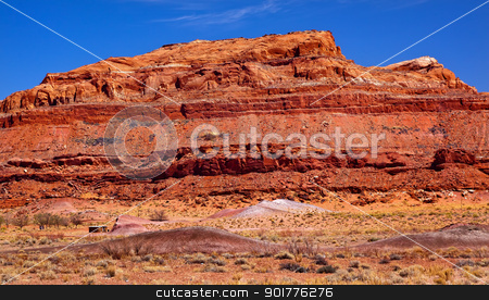 Red Mesa Rock Canyon Arizona stock photo, Red Mesa Rock Canyon Arizona by William Perry