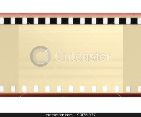 Film isolated stock photo, Dusty films are isolated from the background by Imaster