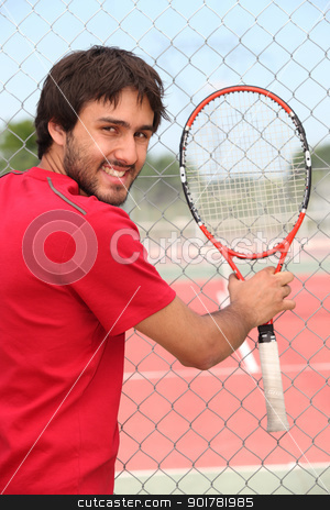 Tennis player stock photo, Tennis player by photography33