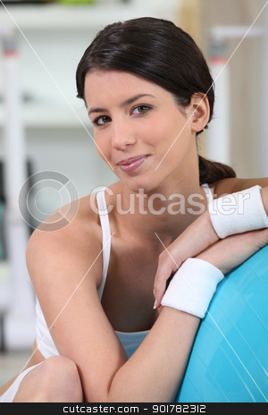 Women at the gym stock photo, Women at the gym by photography33