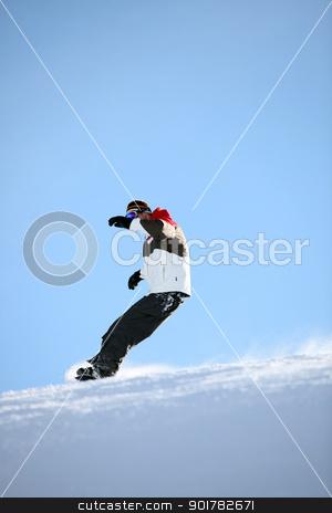 Man snowboarding stock photo, Man snowboarding by photography33