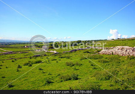 Yorskshire Dales on a beautiful suny day stock photo, Yorskshire Dales on a beautiful suny day by Juliet Photography