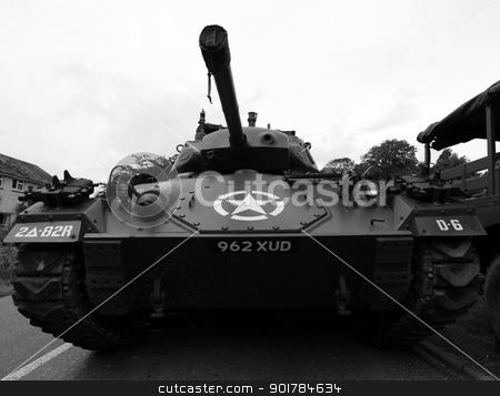 World War 2 Tank stock photo, US World War 2 Tank by Ollie Taylor