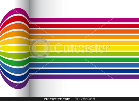 colorful stripes vector background stock vector clipart, colorful stripes vector background by Beata Kraus