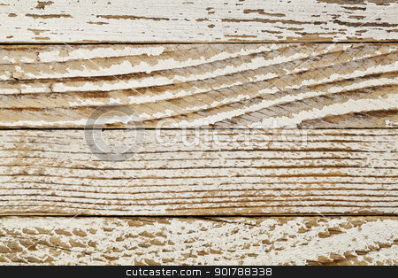 grunge white painted wood stock photo, grunge wood background with old white painted planks, different grin patterns by Marek Uliasz