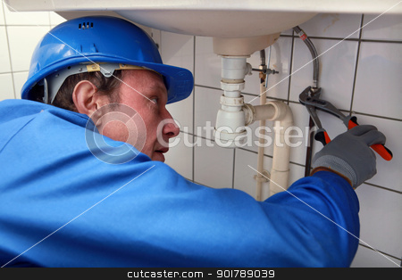 Plumber stock photo, Plumber by photography33