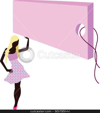 fashion girls banner stock vector clipart, fashion girls for designs, clothes and shopping by glossygirl21