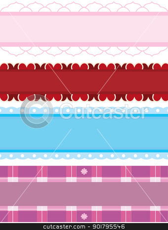borders background stock vector clipart, borders background for designs, wallpaper and others stuff by glossygirl21