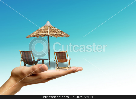 Holiday stock photo, Your dreamed holiday by Diana