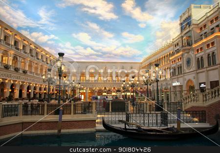 The Venetian stock photo, The Venetian Resort Hotel Casino on 2 July, 2012 in Vegas, US.  by Bagiuiani Kostas