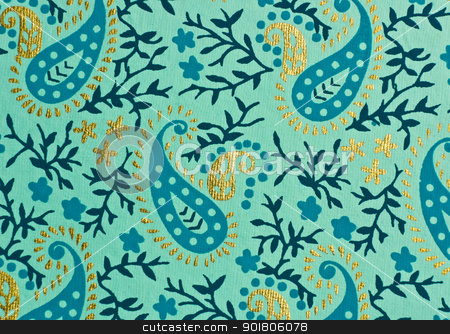 Decorative paper stock photo, Floral decorative paper by boonsom