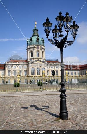 Schloss Charlottenburg stock photo, The magnificent Schloss Charlottenburg in Berlin. by Chris Dorney