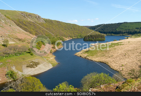PenyGarreg reservoir in the Elan Valley Wales UK. stock photo, PenyGarreg reservoir in the Elan Valley Wales UK. by Stephen Rees